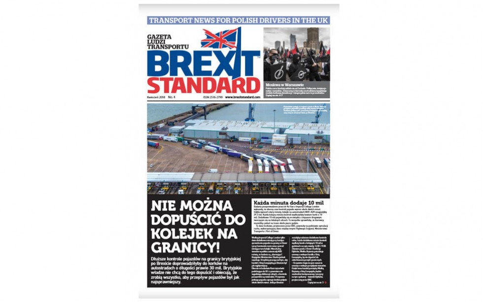 "Czwarty numer ""Brexit Standard"""