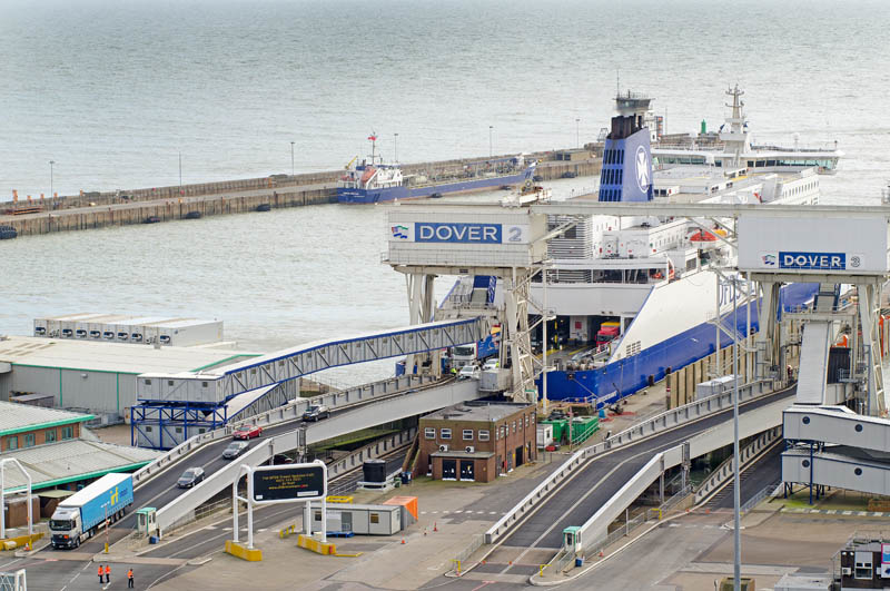 Port w Dover: brama do Anglii